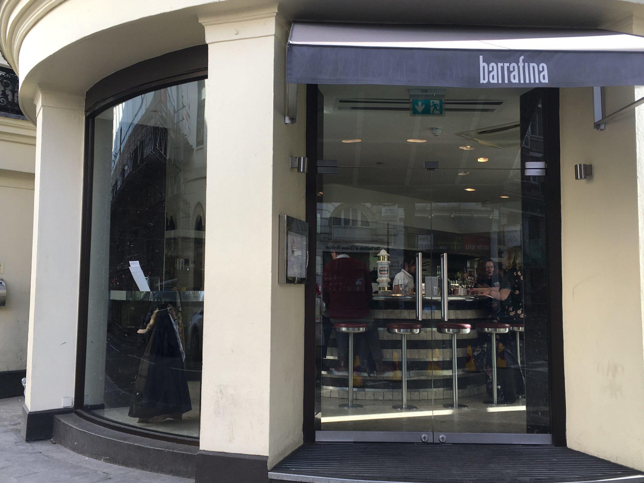 Barrafina Adelaide St exterior