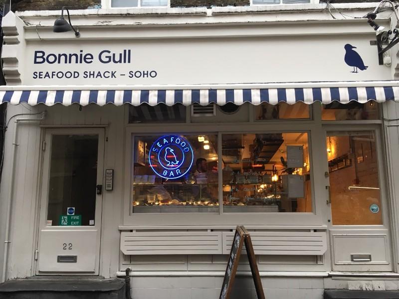 Bonnie Gull exterior