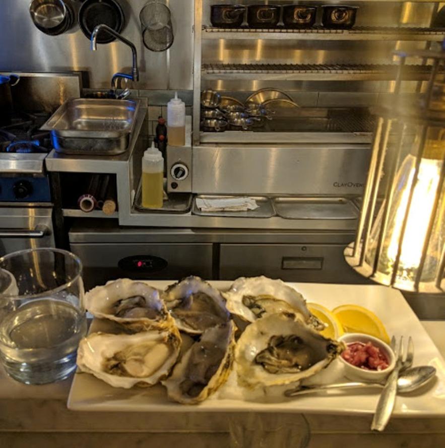 Bonnie Gull oysters