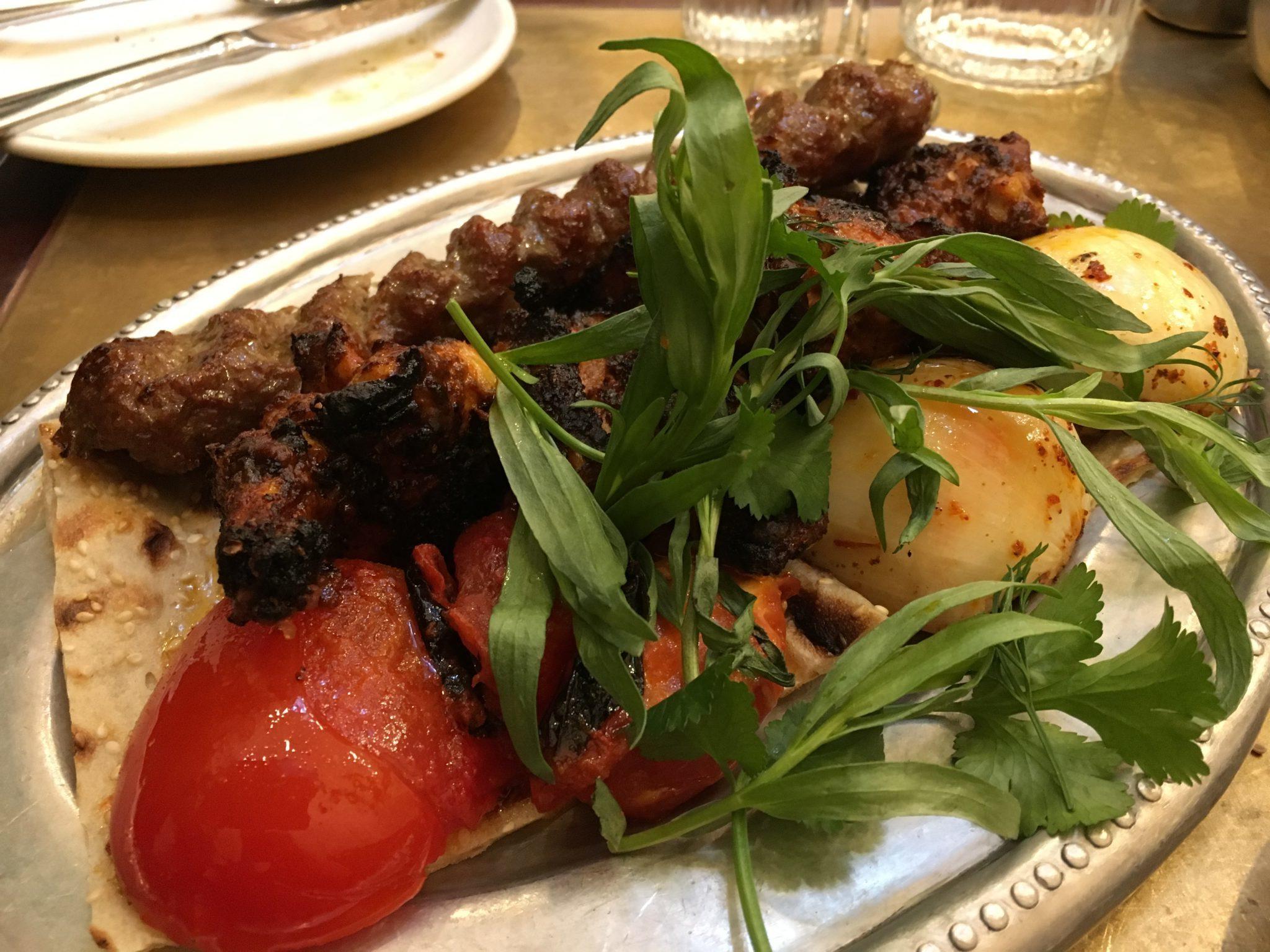 Berenjak food