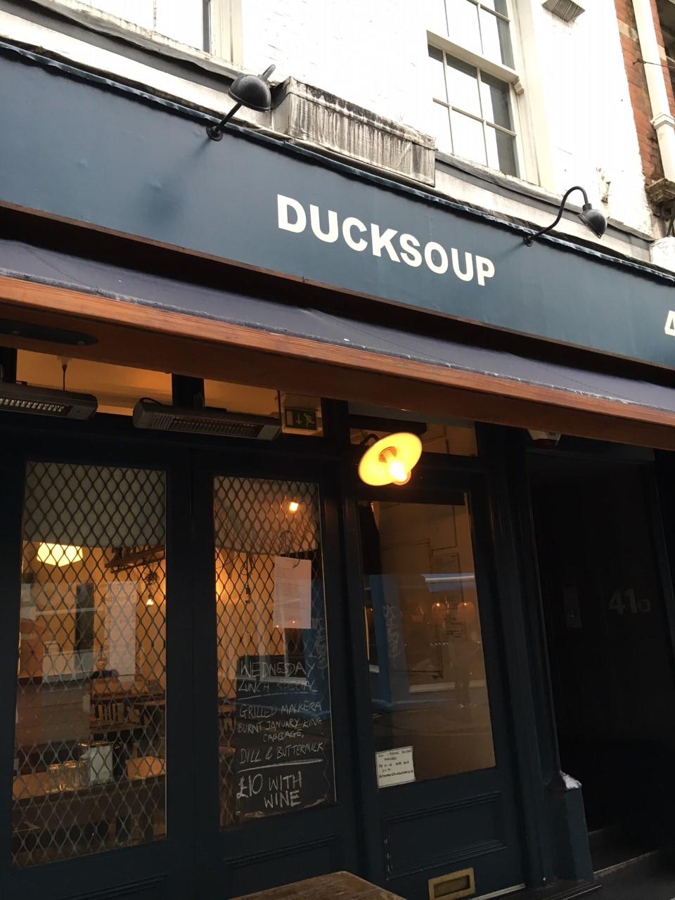 Duck Soup exterior