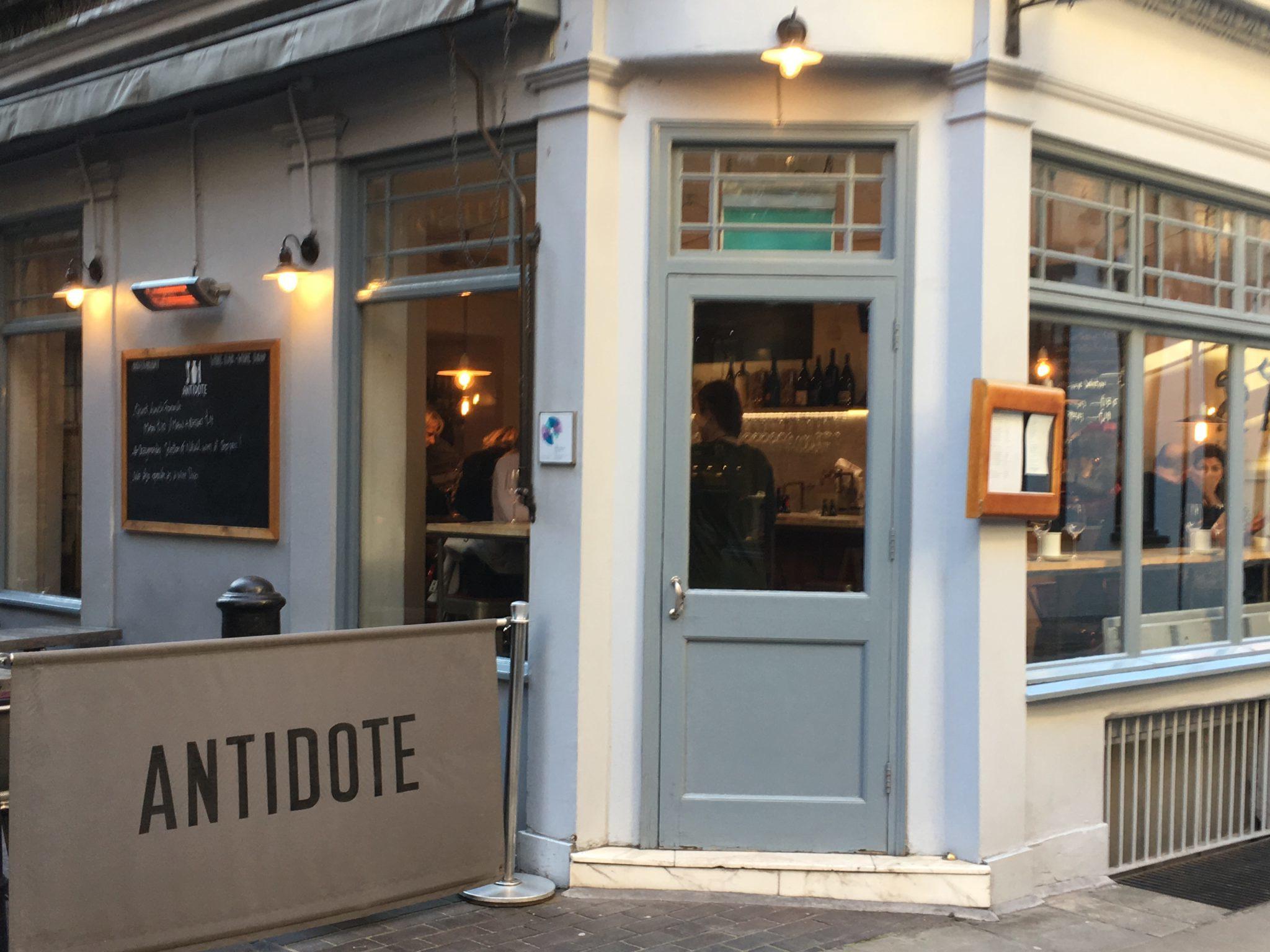 Antidote Wine Bar exterior