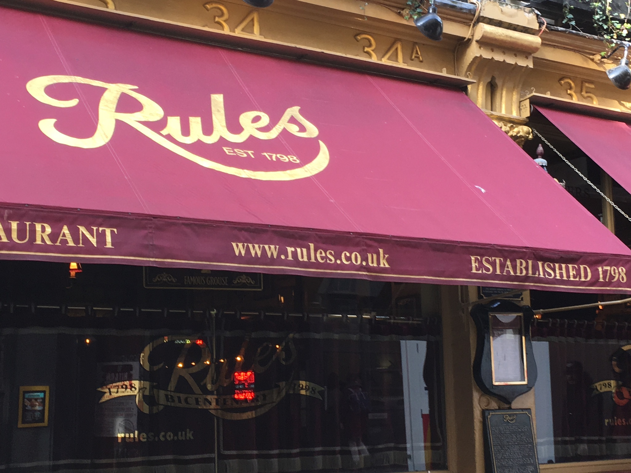 Rules exterior